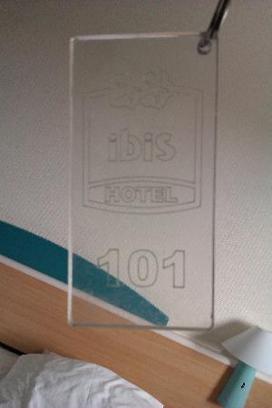 Hotel Ibis Stockholm Spanga: Llavero cómodo de llevar