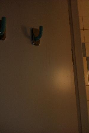 Hotel Ibis Stockholm Spanga: puerta del baño 1