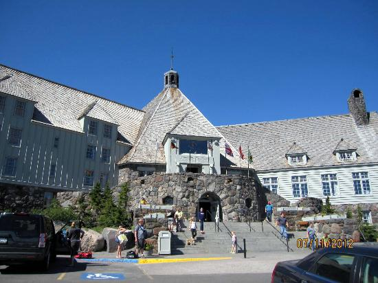 Government Camp, OR: Timberline Lodge in Midsummer