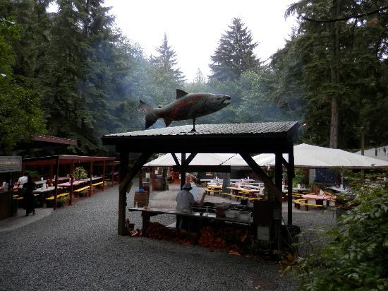 Gold Creek Salmon Bake Entrance