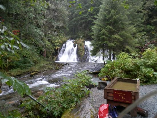 Gold Creek Salmon Bake Waterfall