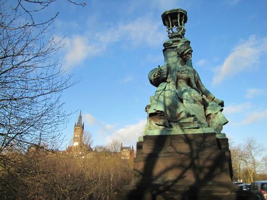 Glasgow West End : park