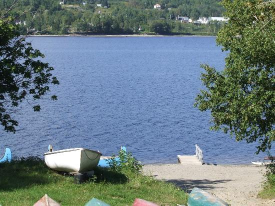 Pohenegamook Sante Plein Air : vue du lac