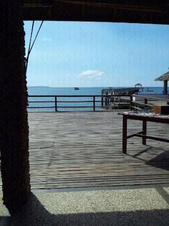 Cocotinos Manado: Sea view from Deho restaurant