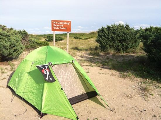 Ocracoke Campground: D21