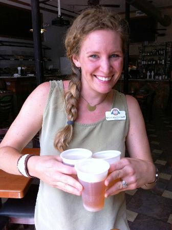 Athens, Géorgie : our awesome hostess