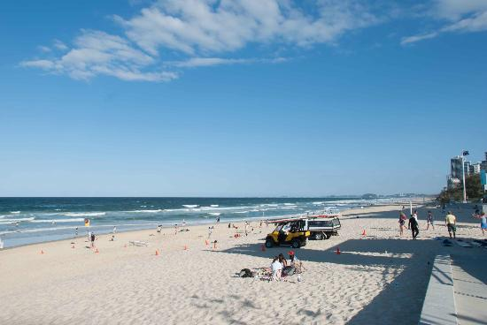 Surfer's Paradise Beach: On Surfers Paradise Beach