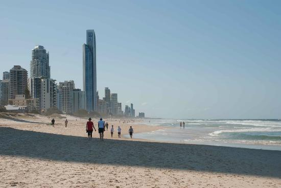 Surfer's Paradise Beach: Iconic Surfers Beach