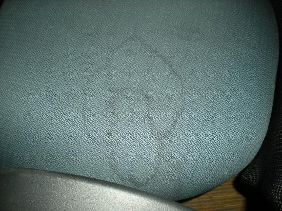 La Quinta Inn & Suites Miami Lakes: Disgusting stain on the chair
