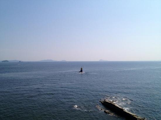 Morozaki Hazu Cape (Hazu Jinja Shrine) : 【羽豆岬展望台】からの180°景色❸