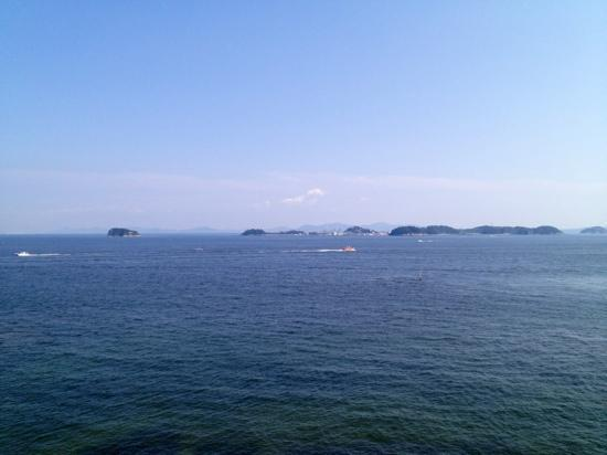 Morozaki Hazu Cape (Hazu Jinja Shrine) : 【羽豆岬展望台】からの180°景色❹