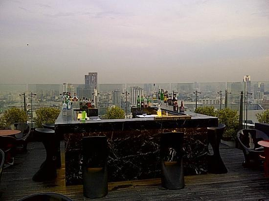 Centara Grand at Central Plaza Ladprao Bangkok: View from Blue Sky Bar