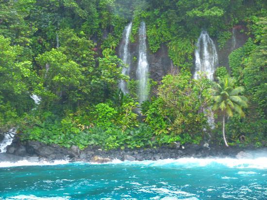 Lavena Coastal Walk: Waterfall