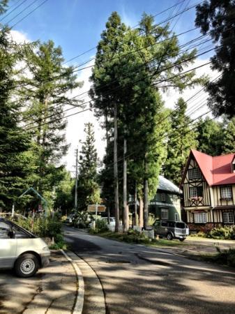 K's House Hakuba Alps: view opposite k's house