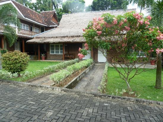 Kampoeng Wisata Tabek Indah Hotel: hotelkamer