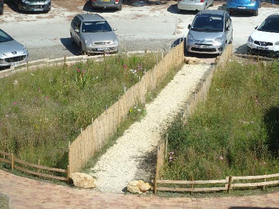 Hotel Residence l'Oceane : Voici le jardin