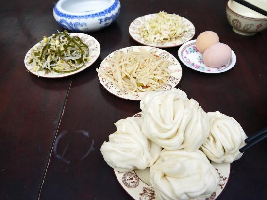 Pingyao Cheng Jia Hotel : Breakfast (Chinese style)