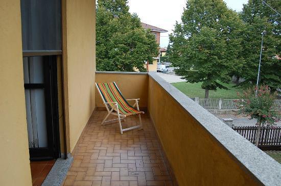 """B&B L'Arcobaleno : balcone """"piccolo solarium"""""""