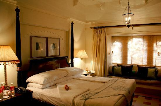 The Oberoi Udaivilas: Hotel room