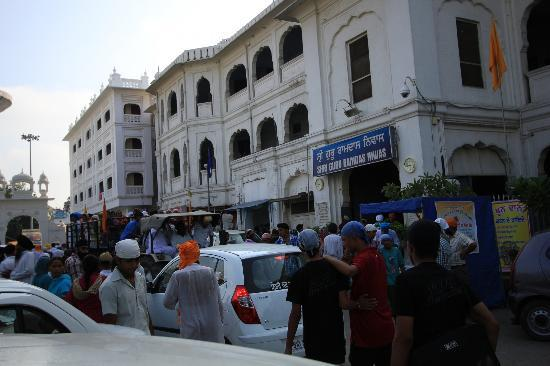 Akal Takht : The guest house inside the temple premises