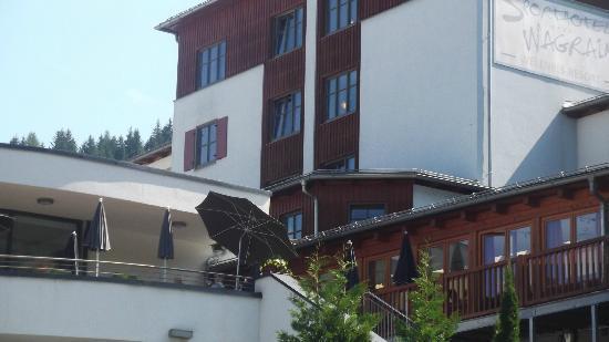 Sporthotel Wagrain: ENTREE DE L'HOTEL