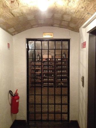 Le Tre Vaselle Resort & Spa: Wine cellar