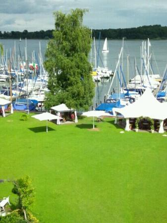 Yachthotel Chiemsee: View from the room