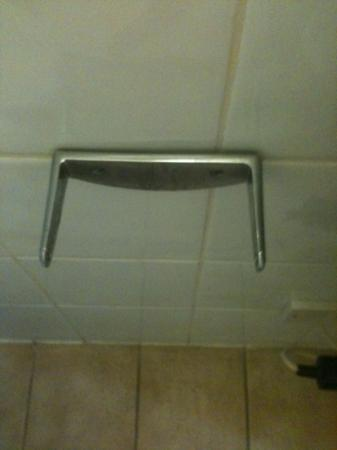 Woking Hotel: pointless toilet roll holder