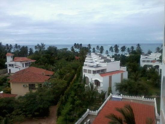 Lantana Galu Beach: arial view from room
