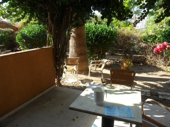 Nereus Hotel:                   our patio