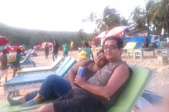Baga Beach : relax