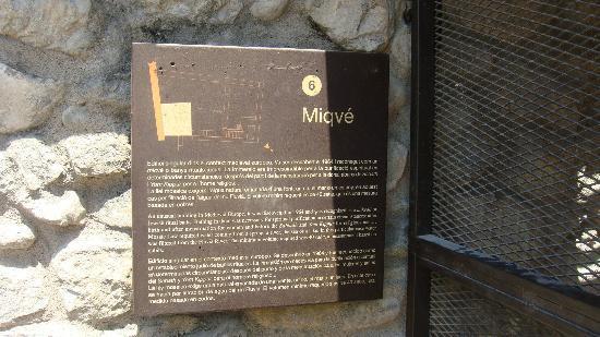 "Miqve : Medieval ""Mikve""(Jewish Ritual Bath House)"