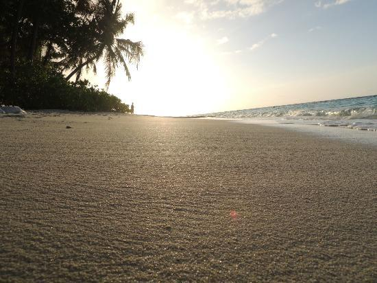 Angsana Ihuru: love the beach