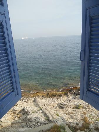 Villa Thalassa (Relais Internationale de la Jeunesse) : View from my room