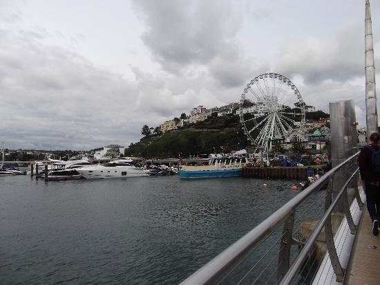 Seascape Hotel: Torquay big wheel