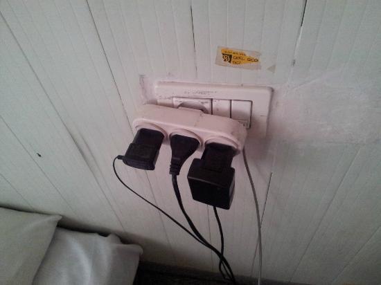 Alcazar Hotel: connection electrique et telephone