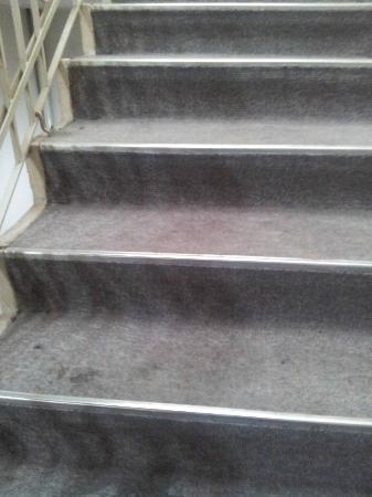 Alcazar Hotel: escalier