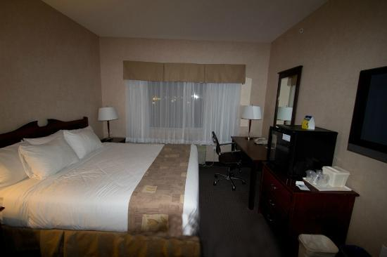Best Western Cranbrook Hotel : Room with King bed