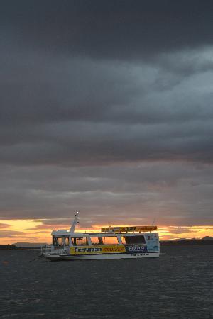 Sylvan Beach Resort: The sunset