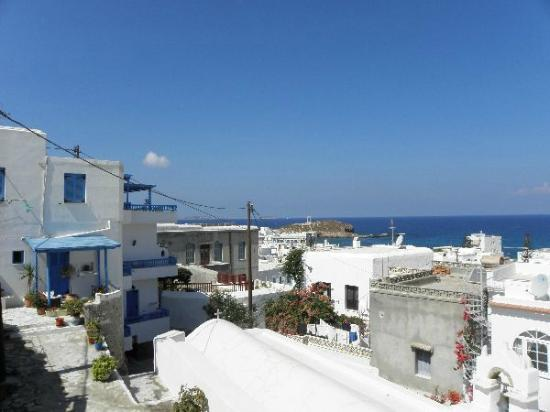 Venetiko Apartments: The View from the Room to the Left
