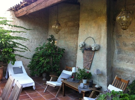 Hotel De Vigniamont: Terrasse