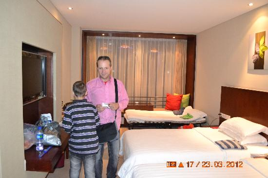 Mercure Wanshang Beijing: the room