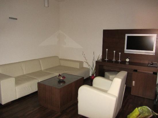 Phoenicia Comfort : sala de estar en la habitación