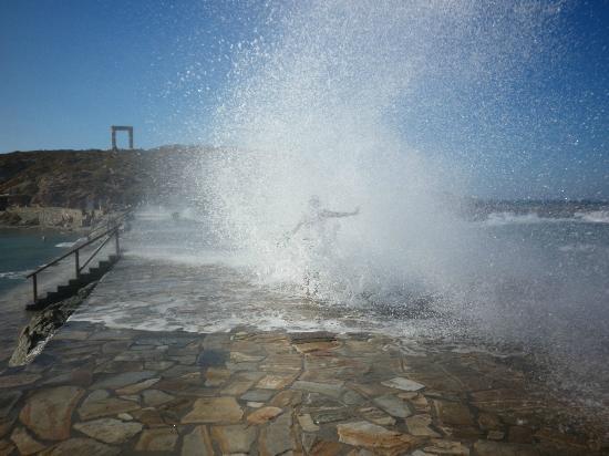 Ciudad de Naxos, Grecia: The amazing walk haha