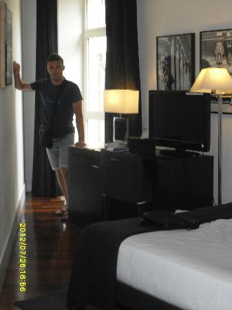 Quatro Puerta del Sol Hotel: Questa è una delle camere dell'albergo