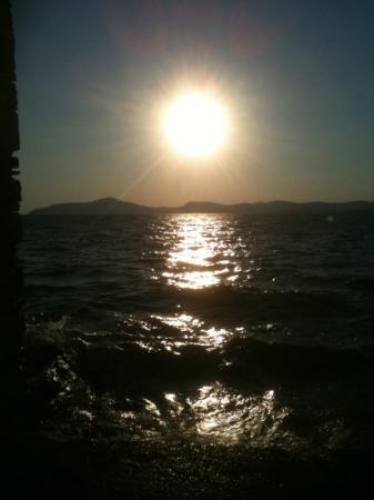 Hotel Mavi Holiday Village : sunsetting