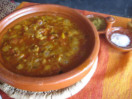 Hassilabied, Marrocos: Kalia with cumin & salt
