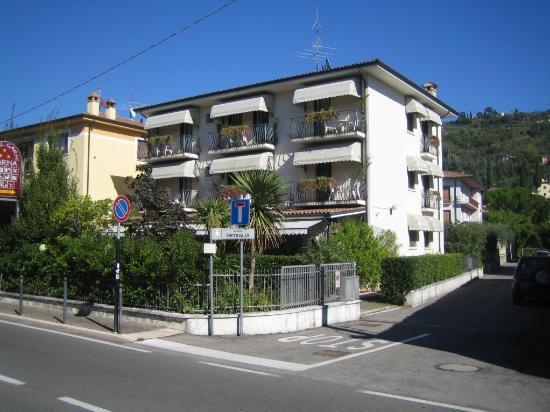 Hotel Garni Marina : Vorderansicht (nach Westen)