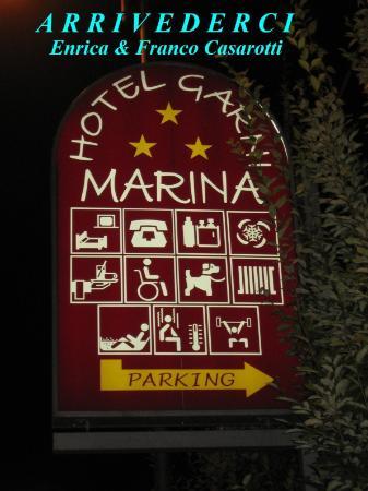 Hotel Garni Marina: Arrivederci *****