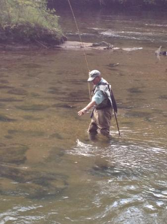 Toccoa River: flyfishing in the Toccoa